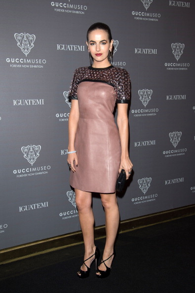 Camilla Belle leather