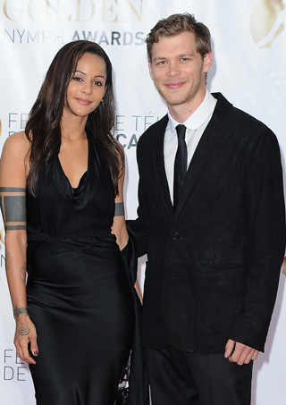 Joseph Morgan couple