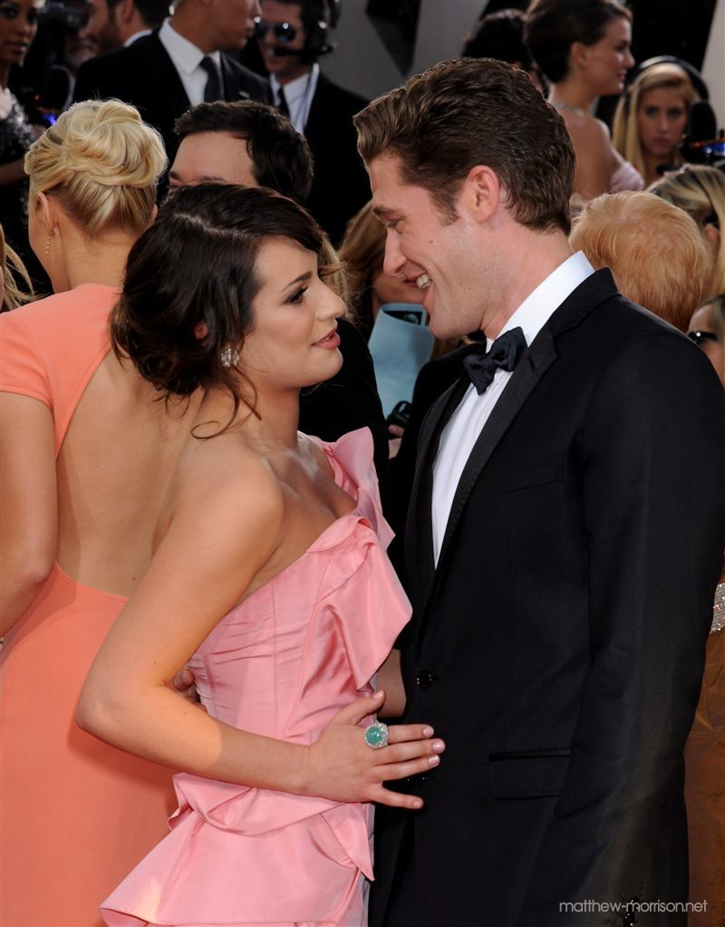 lea michele and matthew morrison relationship with god