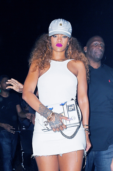 It seems rihanna didn t take too kindly to the leaked tape deciding