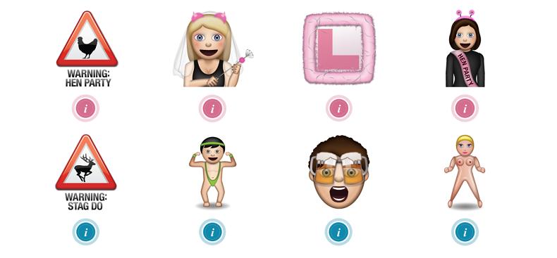 stag hen emoji