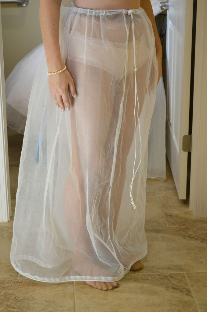 Brides are going crazy for this wedding dress add on for Going to a wedding dress