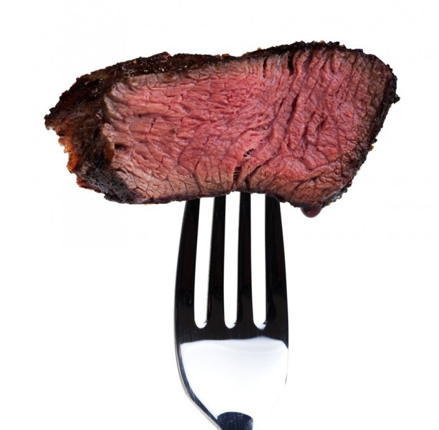 Myth: Red Meat Is Bad For You Too much of anything is bad for you. If you are eating the right amount of red meat it can be good for you. If you're worried about your intake of saturated fat, go for lean cuts of meat like sirloin. Red meat is an excellent source of protein, which keeps you full for longer.