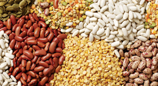 Legumes Fill up on fibre with lentils, chickpeas, and black and kidney beans. They're packed with omega-3 fatty acids, calcium, and soluble fibre,