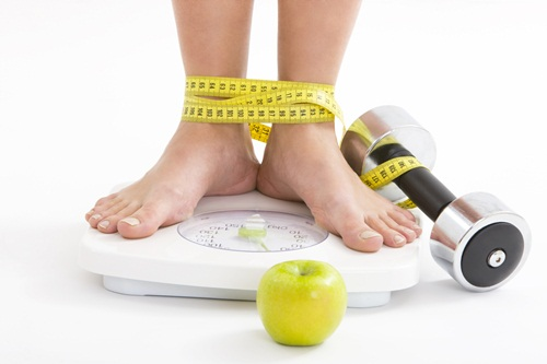 There Are Better Ways To Measure Loathe the scale? Remove it from your world, simples. If you really need some sort of measuring stick, choose a pair of form fitting pants and monitor how they fit. But keep in mind you need to understand your personal patterns. If you're pre-menopausal, you'll more than likely experience water retention and bloating once a month and you might feel the same after eating a meal that's saltier or higher in carbohydrates than usual too. If you have been steadily growing out of your clothes, take a step back and an objective look at your life. Have you been going out to dinner or drinking more often, stress eating, or mindlessly munching? If so, the solution lies in raising your awareness and taking action, not in obsessing over a number.