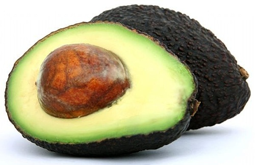 """Avocado The creamy flesh of the avocado is a great source of fibre. They are also a great source of mono and poly-unsaturated fats, the """"good kind"""" that can help lower cholesterol."""