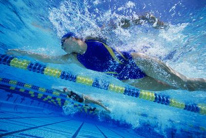 WomanSwimming