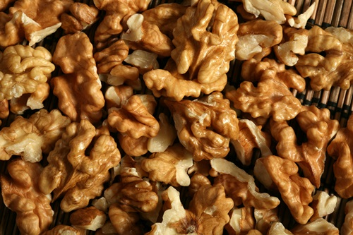 Walnuts The omega-3 fats in these little guys can help moisturise your skin from the inside out. They boost cell hydration too.