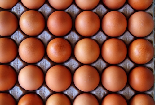 Eggs They're packed with protein, for building collagen and elastin. They also contain lecithin which helps keep your skin smooth.