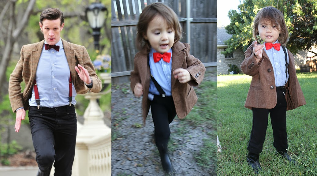 kmk11  sc 1 st  Her.ie & In Photos: Little Girl Dresses up as All Eleven Doctors from Doctor ...