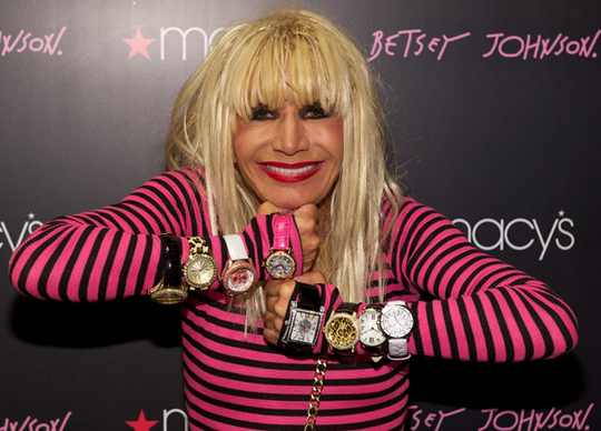 Betsey Johnson Launchs The Betsey Johnson Fashion Watch Collection At Macy's
