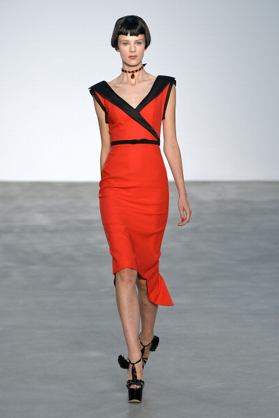 L Wren Scott  - Runway: London Fashion Week SS14