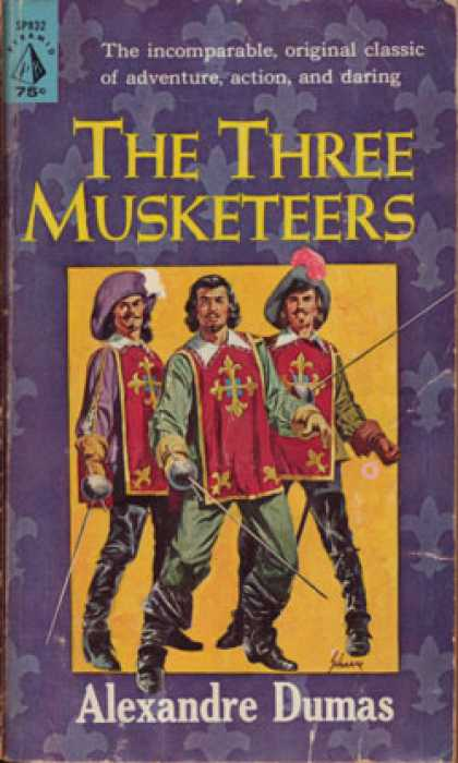 Image result for the 3 musketeers book