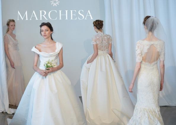 Spring 2015 Bridal Collection - Marchesa  - Show