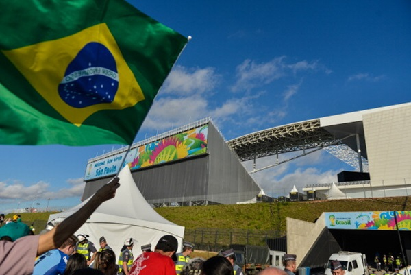 Sao Paulo prepares for the 2014 FIFA World Cup