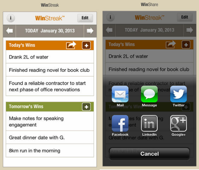 App-reciation: Set And Achieve Your Goals With WinStreak | Her ie