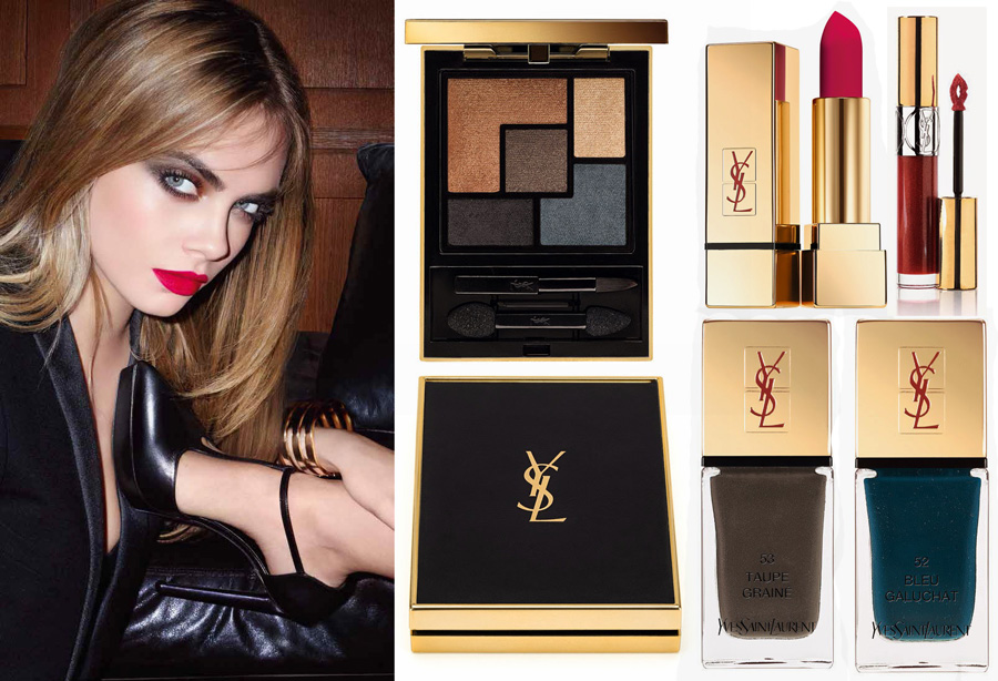 YSL-Leather-Fetish-makeup-collection-for-Fall-2014