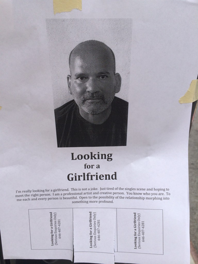 PICTURE: This Man Really, Really Wants a Girlfriend | Her.ie