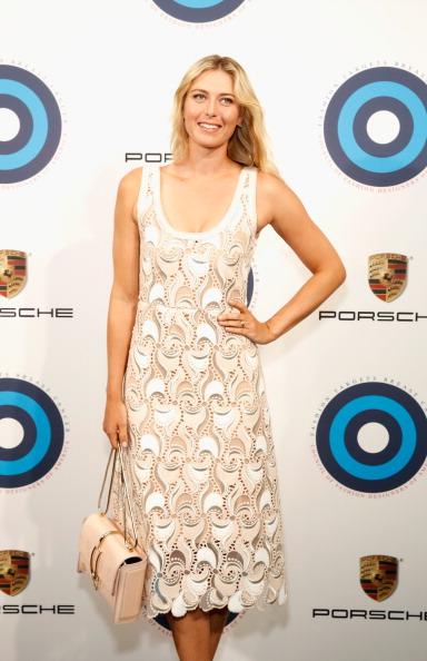 CFDA And Porsche Celebrate Fashion Targets Breast Cancer 20th Anniversary With Maria Sharapova