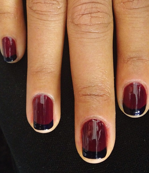 Twist on the French Mani - High Res