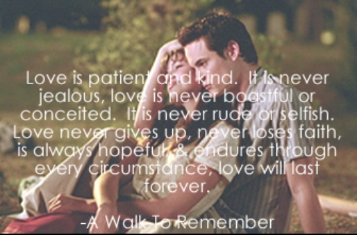 A Walk To Remember Quotes: Our Favourite Quotes From The Movies