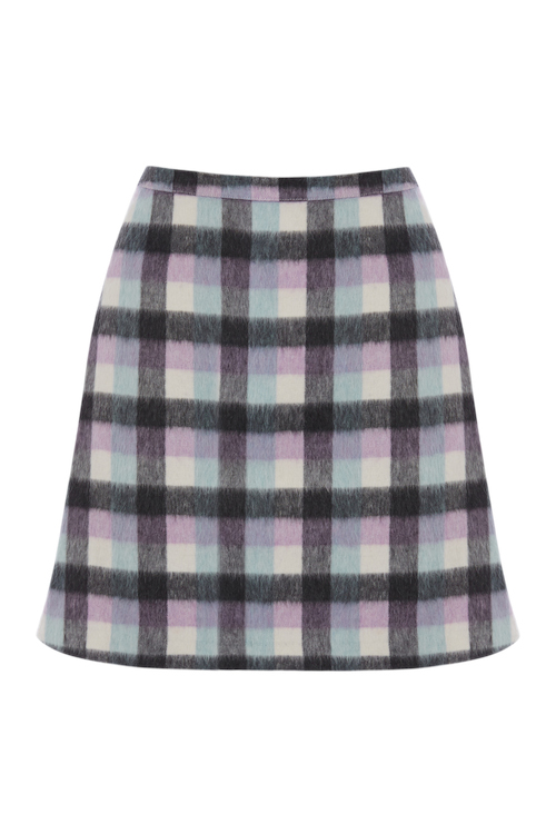 CATHERINE KELLY DYF FOR OASIS_CHECK SKIRT 56EUR
