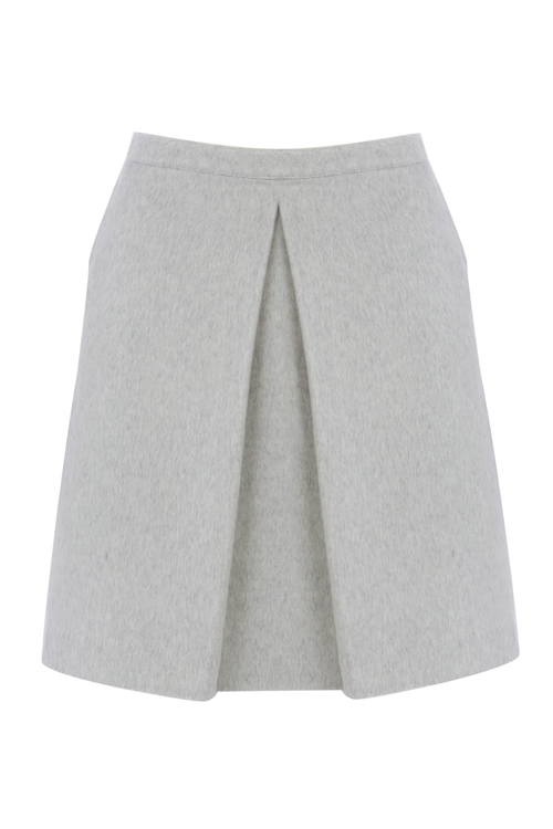 CATHERINE KELLY DYF FOR OASIS_GREY SKIRT 50EUR
