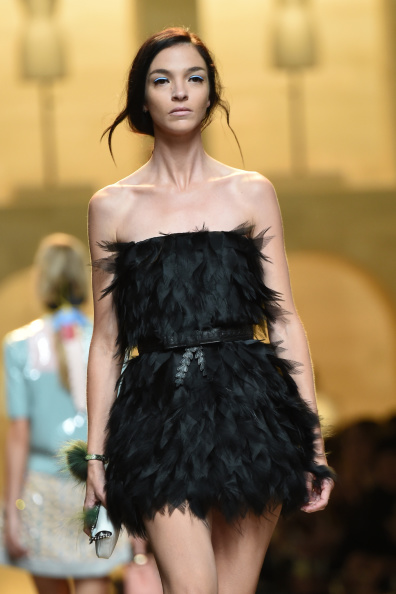 Fendi - Runway - Milan Fashion Week Womenswear Spring/Summer 2015