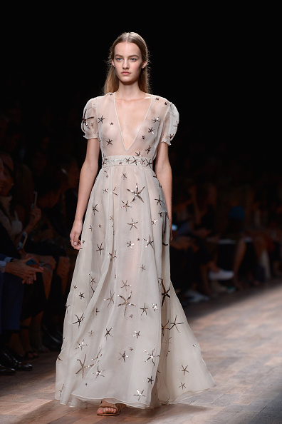 Valentino : Runway - Paris Fashion Week Womenswear Spring/Summer 2015