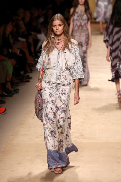 Etro - Runway - Milan Fashion Week Womenswear Spring/Summer 2015