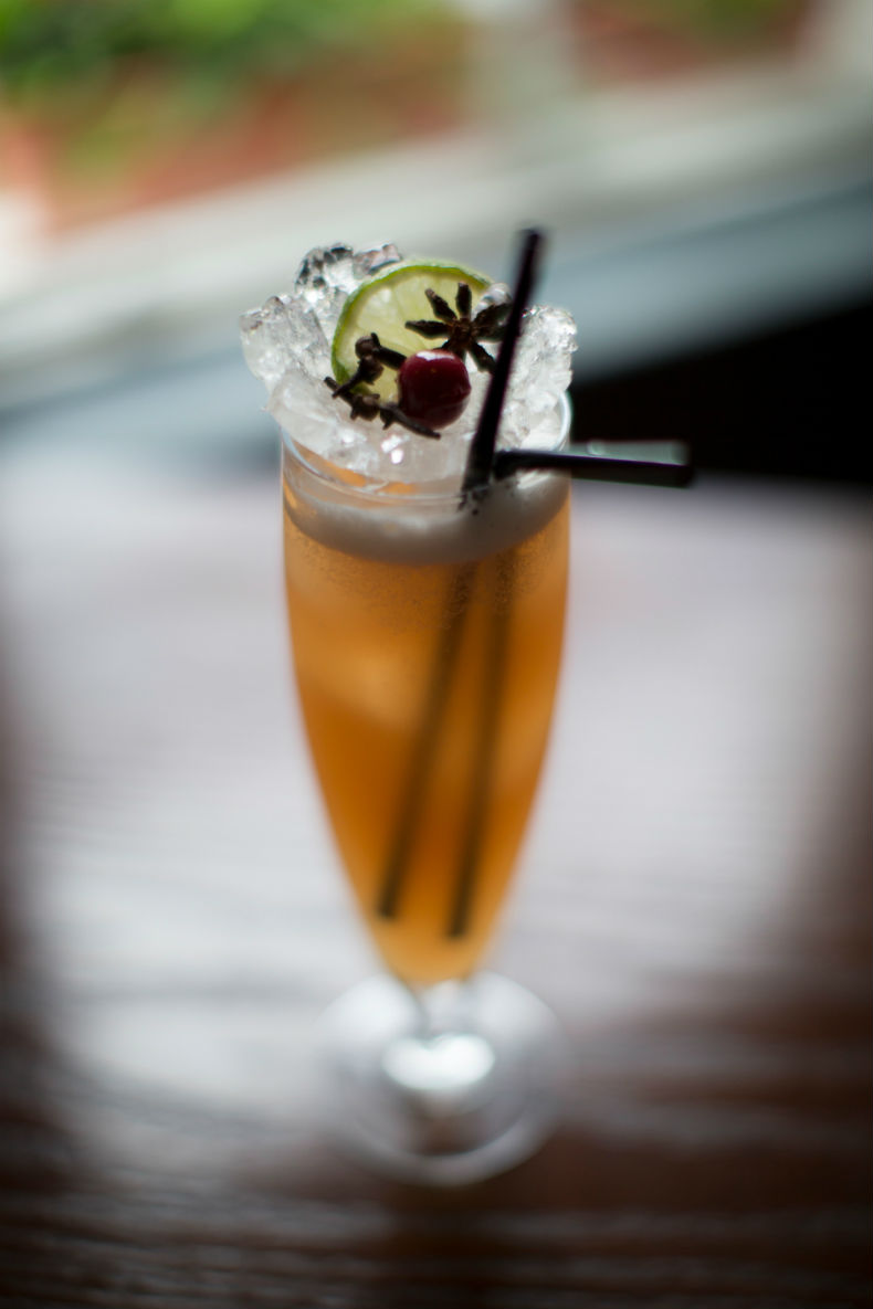 The Sussex Clove and Cinnamon Rum Punch