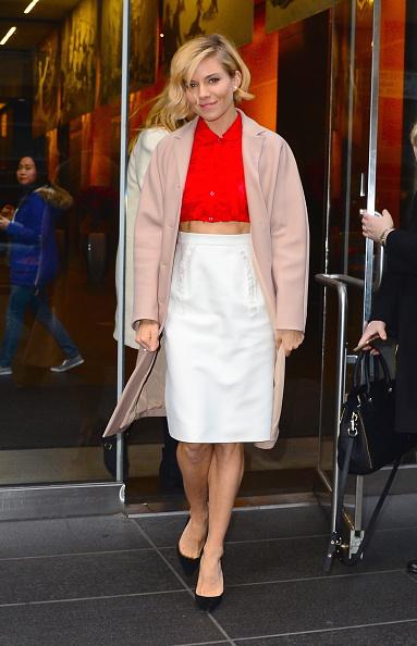 Celebrity Sightings In New York City - December 04, 2014