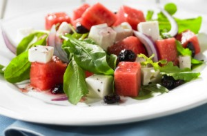 Watermelon Feta and Rocket Salad (hi-res)