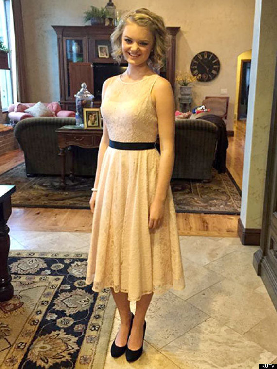 Pic This Dress Was Deemed Too Inappropriate For A School Dance