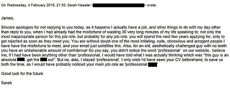 Man receives rejection letter calling him an old aesthetically letter23198345c spiritdancerdesigns Image collections