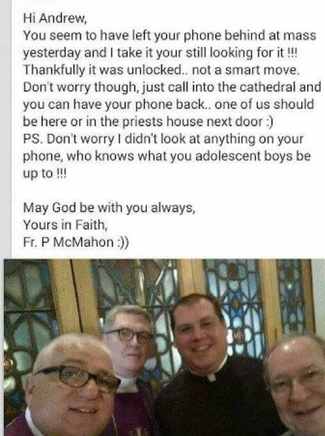 This Facebook-hack by an Irish Priest just got hilarious