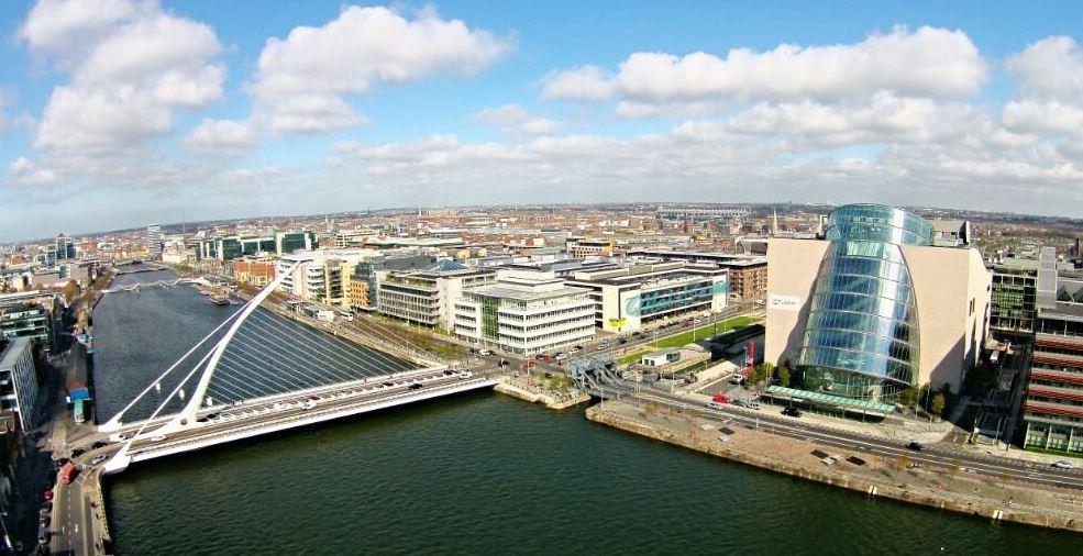 Dublin in the sun.