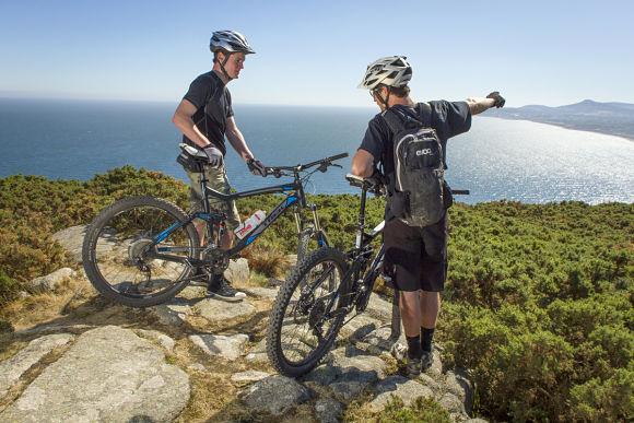 Dun Laoghaire - Mountain Biking on Killiney Hill
