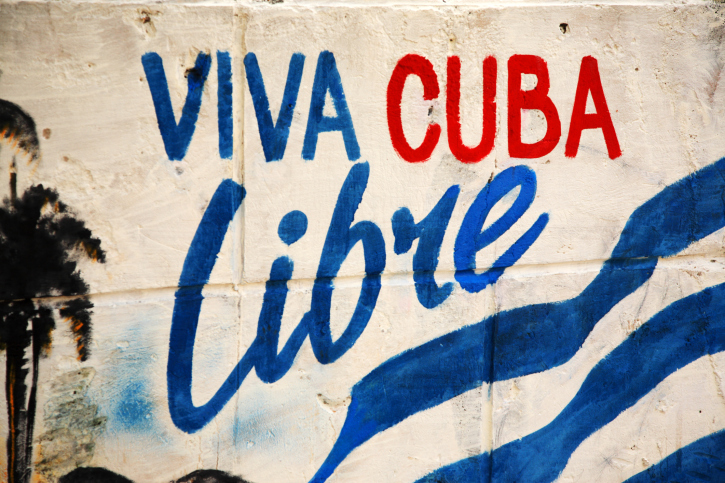 Viva Cuba Libre sign