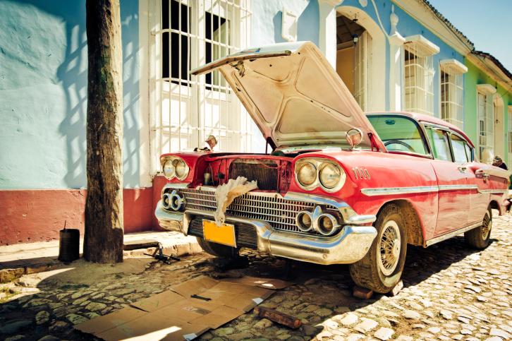 Trinidad street, Cuba