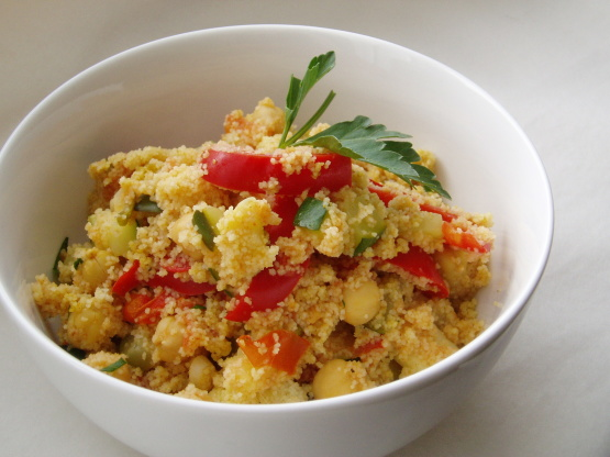 Food for thought a quick homemade recipe for spicy for Couscous food recipe