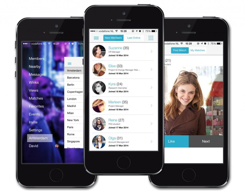 dating apps amsterdam