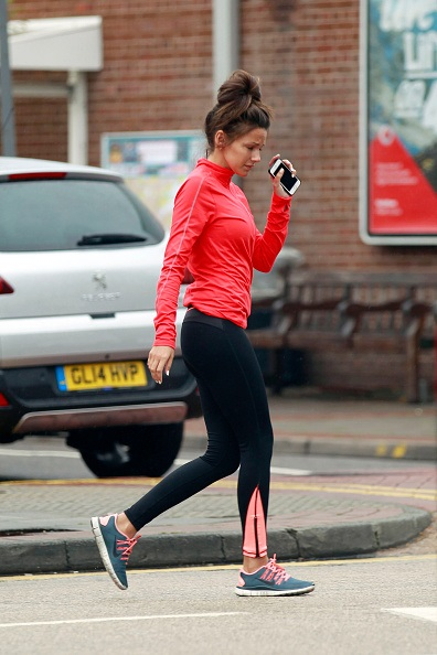 57a9e32a14250 LONDON, UNITED KINGDOM - APRIL 29: (EXCLUSIVE COVERAGE) Michelle Keegan is  pictured