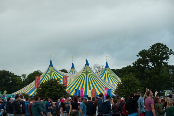 DUBLIN, IRELAND - AUGUST 30: General view of Day 1 of Electric Picnic Festival 2013 at Stradbally Hall Estate on August 30, 2013 in Dublin, Ireland. (Photo by Gaelle Beri/Redferns via Getty Images)