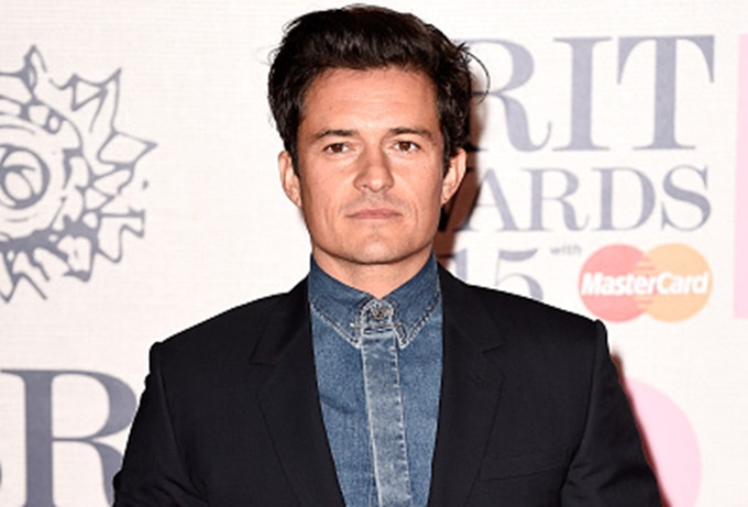 LONDON, ENGLAND - FEBRUARY 25:  Orlando Bloom attends the BRIT Awards 2015 at The O2 Arena on February 25, 2015 in London, England.  (Photo by Ian Gavan/Getty Images)