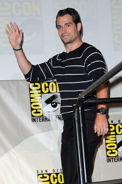 attends the Warner Bros. presentation during Comic-Con International 2015 at the San Diego Convention Center on July 11, 2015 in San Diego, California.