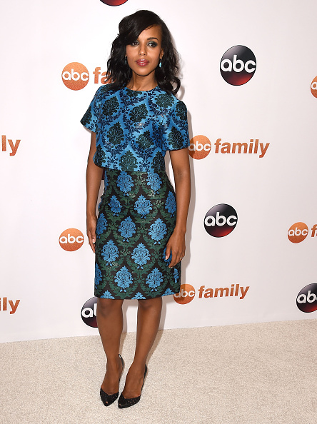 BEVERLY HILLS, CA - AUGUST 04:  Kerry Washington arrives at the Disney ABC Television Group's 2015 TCA Summer Press Tour on August 4, 2015 in Beverly Hills, California.  (Photo by Steve Granitz/WireImage)