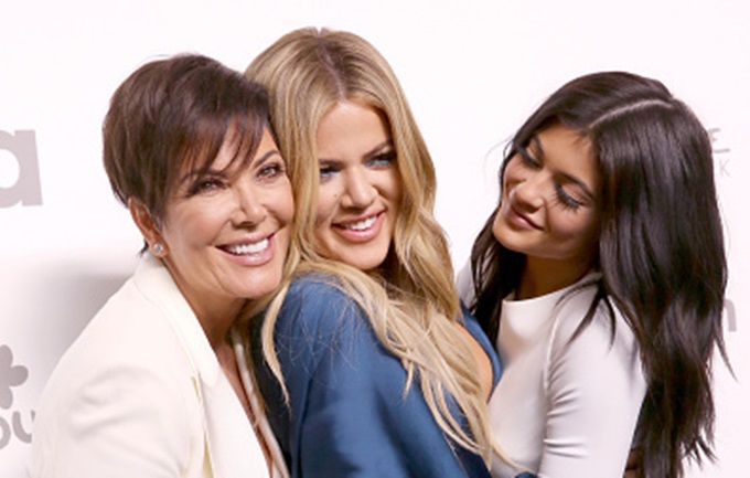 NEW YORK, NY - MAY 14:  (L-R) Kris Jenner, Khloe Kardashian, and Kylie Jenner attend the 2015 NBCUniversal Cable Entertainment Upfront at The Jacob K. Javits Convention Center on May 14, 2015 in New York City.  (Photo by Robin Marchant/Getty Images)