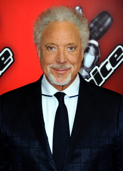 """LONDON, ENGLAND - JANUARY 06:  Sir Tom Jones attends the red carpet launch for """"The Voice UK"""" at BBC Broadcasting House on January 6, 2014 in London, England.  (Photo by Anthony Harvey/Getty Images)"""