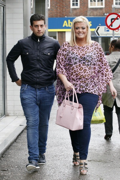 LONDON, UNITED KINGDOM - APRIL 27: James 'Arg' Argent and Gemma Collins from TOWIE seen in Essex on April 27, 2012 in London, England. (Photo by Neil Mockford/FilmMagic)